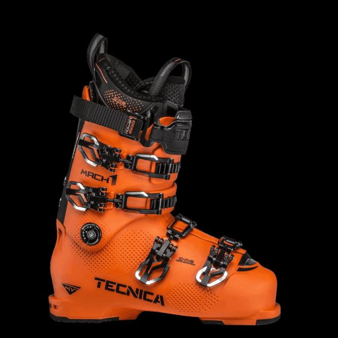 TECNICA Mach1 130MV Ski Boot in Ultra Orange