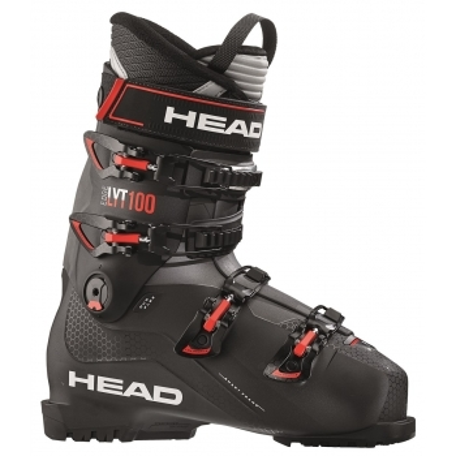 HEAD SKI Edge LYT 100 Mens Ski Boot in Black