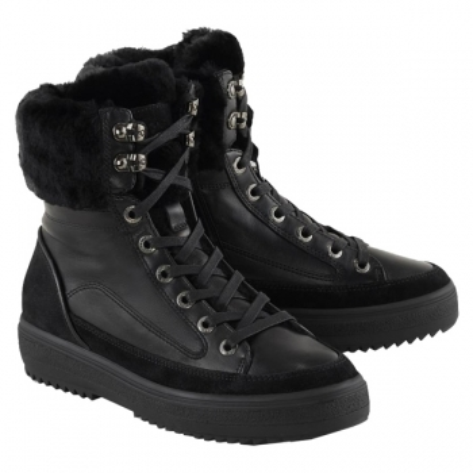 BOGNER Anchorage Womens Winter Shoe in Black