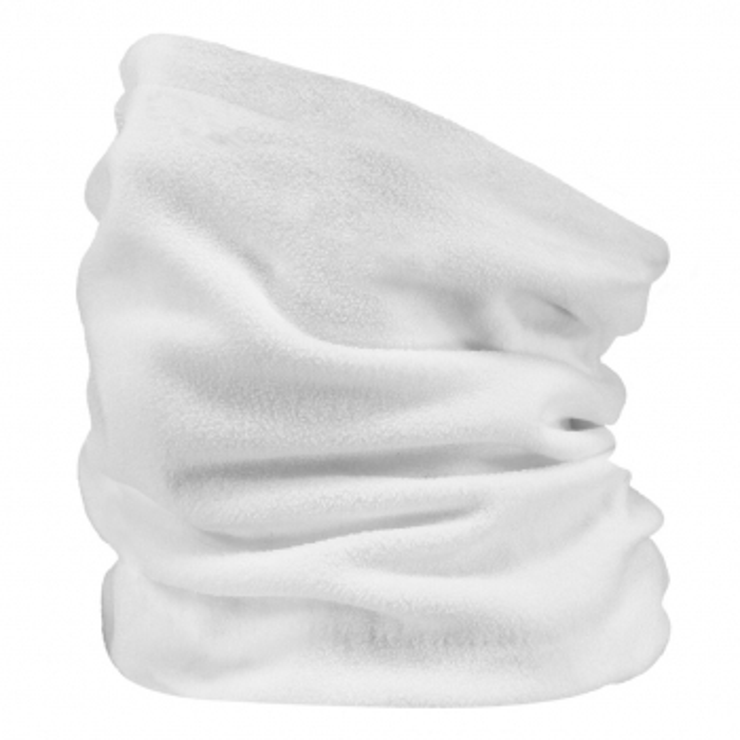 BARTS Fleece Col Ski Neck Warmer in White