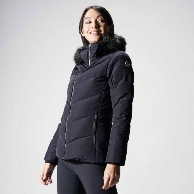 FUSALP Davai Womens Ski Jacket in Navy