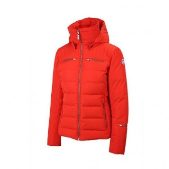 FUSALP Lise Womens Ski Jacket in Red