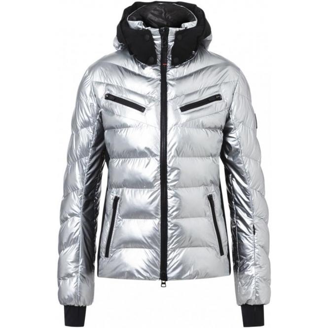 BOGNER Farina Ski Jacket in Silver