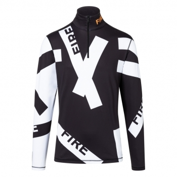 Bogner Pascal Baselayer Top in Blk/White Print