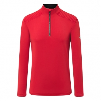 DESCENTE Piccard Mens MidLayer in Red