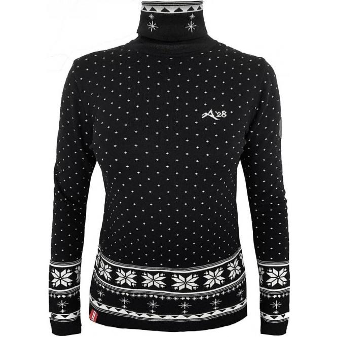 ALMGWAND Aueneralm Pullover in Black