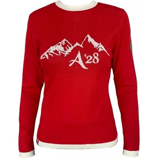ALMGWAND Ampferalm Pullover in Red