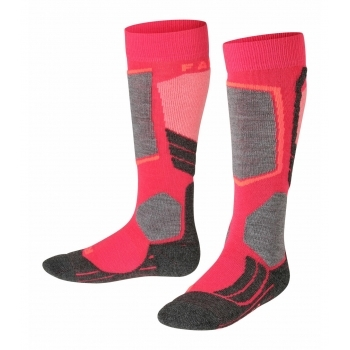 FALKE SK2 Kids Ski Sock in Rose