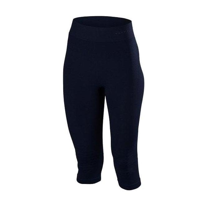 FALKE Womens Maximum Warm 3/4 Pant Tight Fit in Night Sky