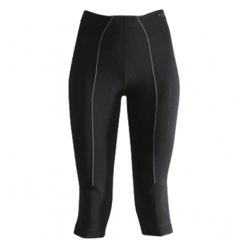 FALKE Wool Tec 3/4 Tight Womens Ski Thermal in Black