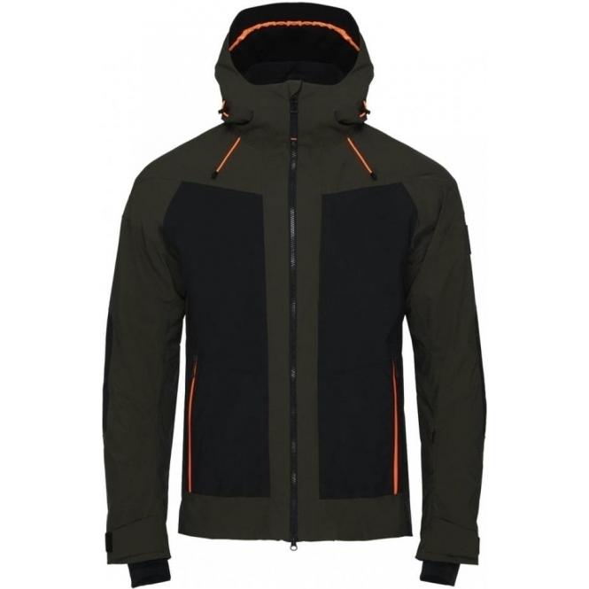 BOGNER Brody-T Ski Jacket in Dark Green