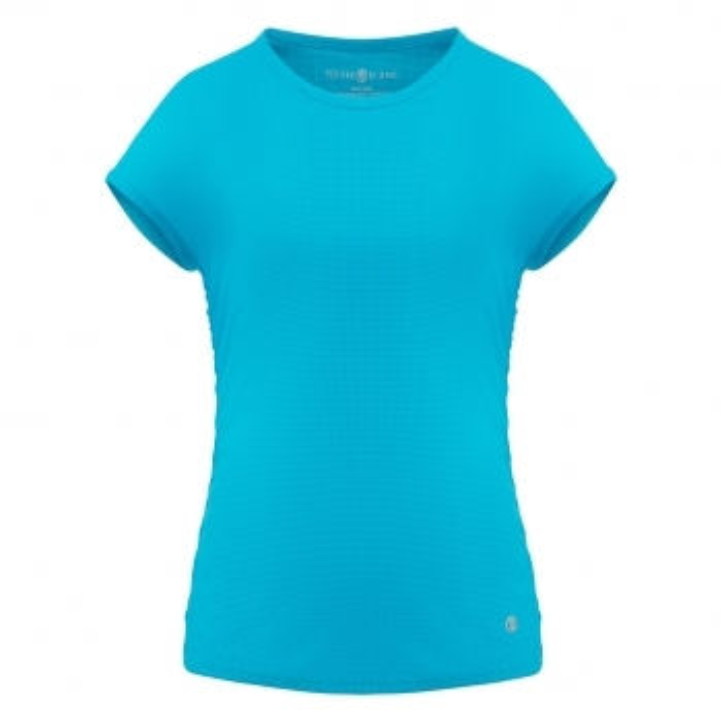 POIVRE BLANC Eco Active Light T Shirt in Blue