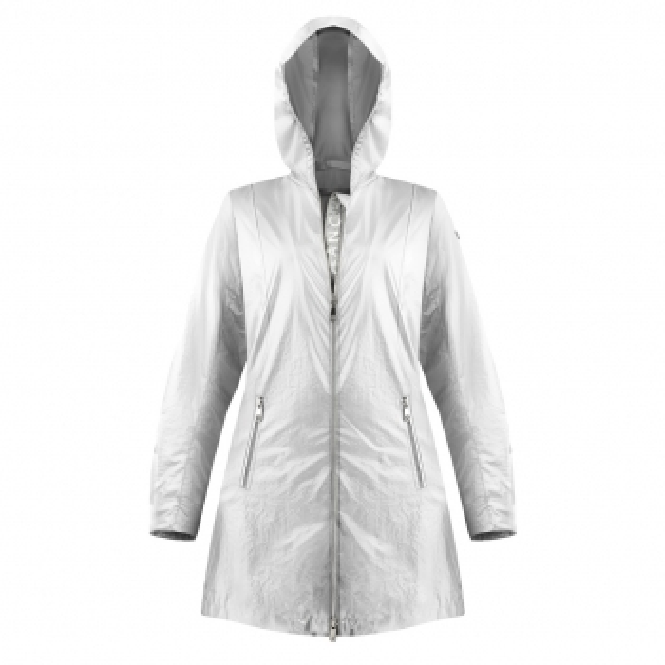 POIVRE BLANC Glossy Rain Coat