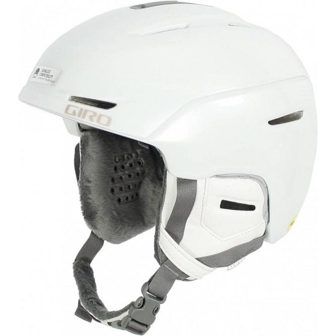 GIRO SKI HELMETS Avera MIPS Womens Helmet in Pearl White