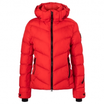 BOGNER Fire + Ice Saelly Ski Jacket in Red