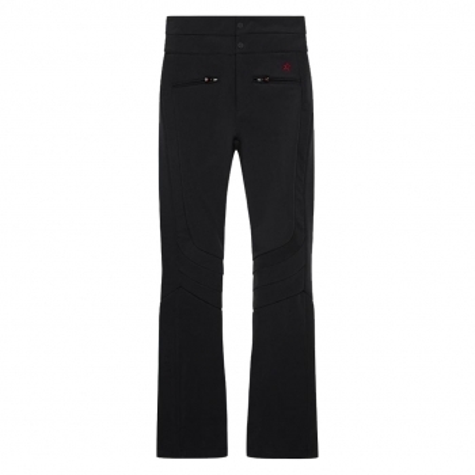 PERFECT MOMENT Aurora High Waist Flare Ski Pants in Black