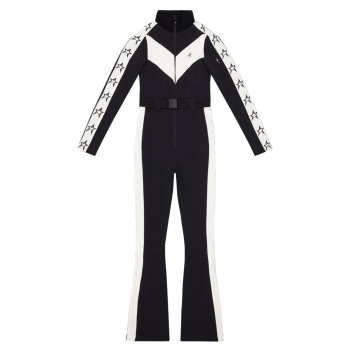 PERFECT MOMENT Ryder One Piece Ski Suit in Black