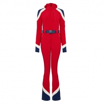 PERFECT MOMENT Allos One Piece Ski Suit in Red