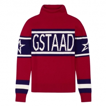 PERFECT MOMENT Schild Sweater Gstaad in Red
