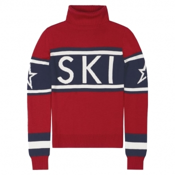 PERFECT MOMENT Schild Sweater in Red