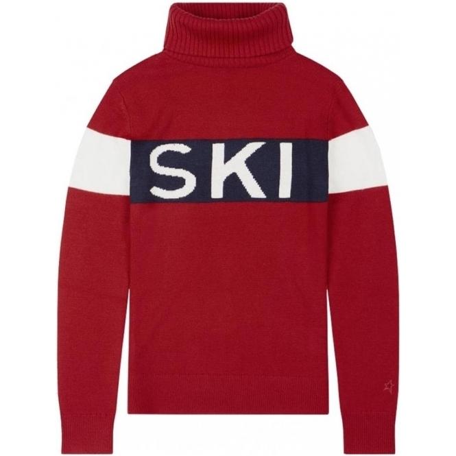 PERFECT MOMENT Ski Sweater II in Red