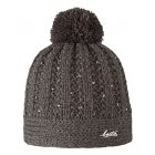 Barts Coco Beanie Kids Ski Hat in Heather Brown