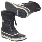 Sorel 1964 Pac Nylon Mens Winter Boot in Black