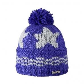 Barts Stars Beanie Kids Ski Hat in Bright Violet