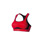 Odlo High Ultimate Fit Bra in Formula One Red-Black