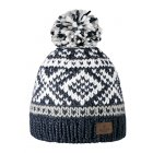Barts Log Cabin Beanie Ski Hat in Navy