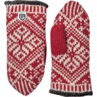 Hestra Nordic Wool Mitt in Red