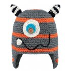 Barts Monster Beanie Kids Ski Hat in Orange