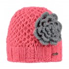 Barts Rose Beanie Kids Ski Hat in Lollipop