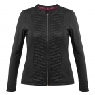 Poivre Blanc Womens Tennis Jacket In Black