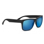 Serengeti Positano Sanded Dark Grey With Polarized Blue Lens