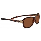 Serengeti Isola Satin Tortoise Brass With Polarized Drivers Lens