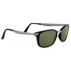 Serengeti Volare Satin Black Gunmetal With Polarized 555nm Lens