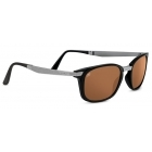 Serengeti Volare Satin Black Gunmetal With Polarized Driver Lens