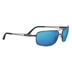 Serengeti Dante Black Pearl With Polarized 555nm Blue Lens