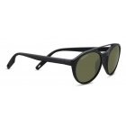Serengeti Leandro Satin Black Dark Gun With Polarized 555nm Lens