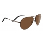 Serengeti Carrara Shiny Gunmetal With Polarized Drivers Lens