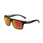 Bolle Clint Matte Black Orange with Polarized Fire Lens