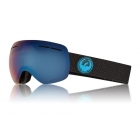 Dragon X1 Ski Goggle in Split with LumaLens Blue Ion and Amber Lenses