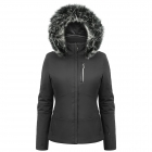 Poivre Blanc Stretch Womens Ski Jacket in Black