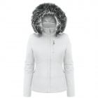 Poivre Blanc Stretch Womens Ski Jacket in White
