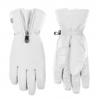 Poivre Blanc Womens Stretch Glove in White