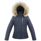 Poivre Blanc Junior Girls Stretch Ski Jacket in Gothic Blue
