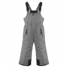 Poivre Blanc Junior Boys Bib Pants in Grey Souris