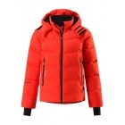 Reima Wakeup Boys Down Ski Jacket in Red