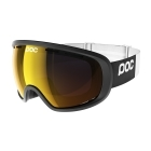 POC Fovea Clarity Ski Goggle in Uranium Black With Spek Orange